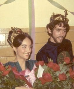 Vickie Albert and Chuck Gilmore, Guinevere and King Arthur