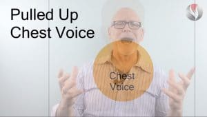 What is Chest Voice-a common problem is pulling up chest voice